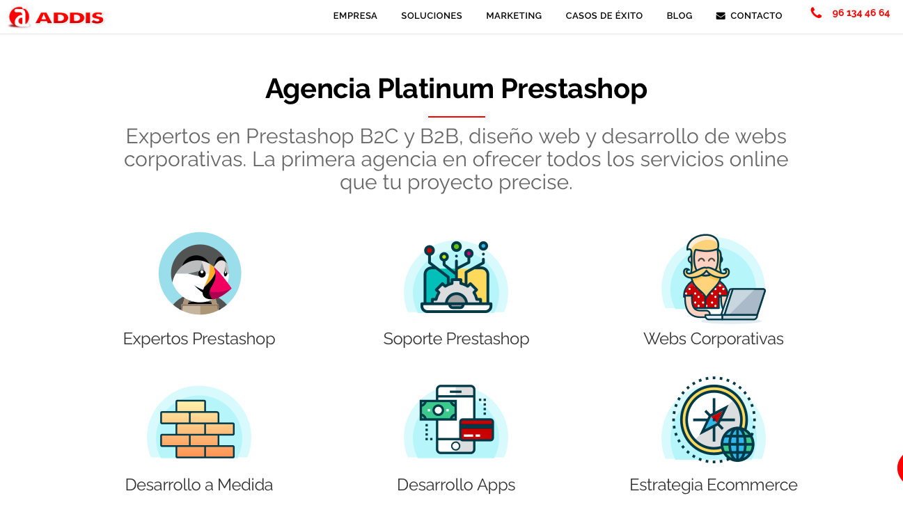 Agencia ecommerce España Addis