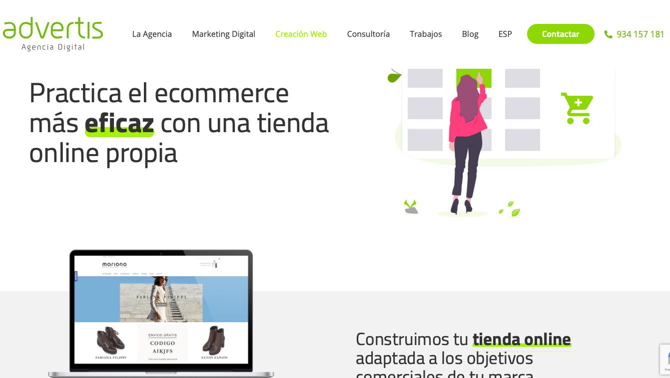 Agencia ecommerce España Advertis
