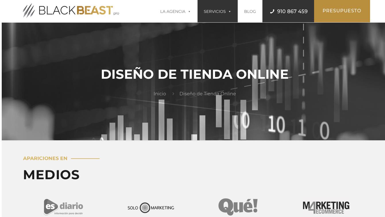 Agencia ecommerce España BlackBeast