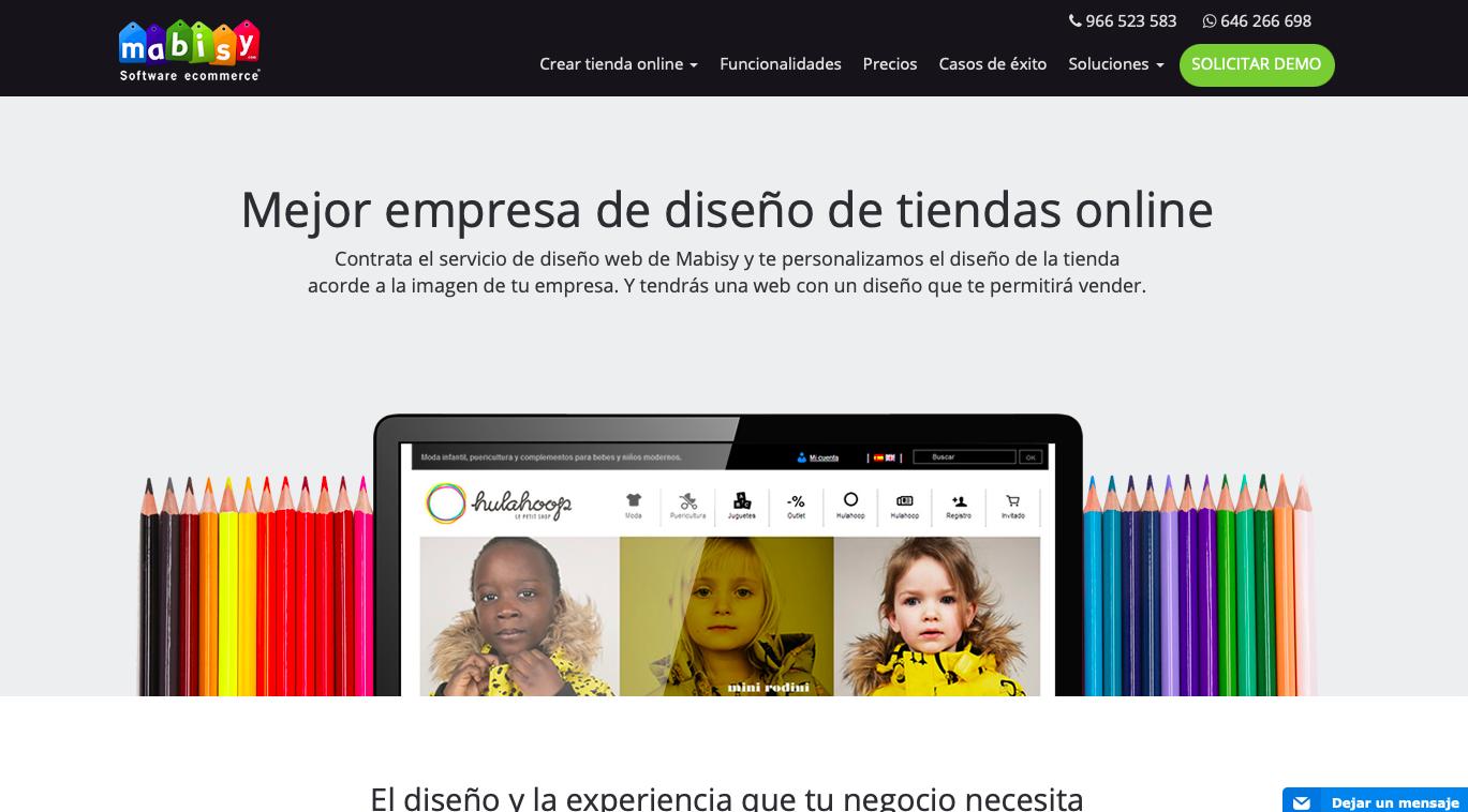 Agencia ecommerce España Mabisy