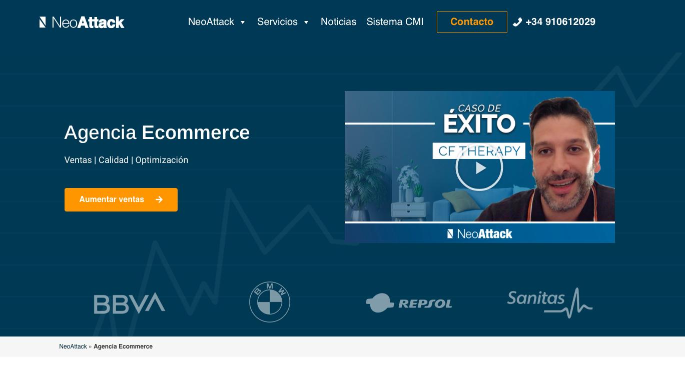 Agencia ecommerce España Neoatttack