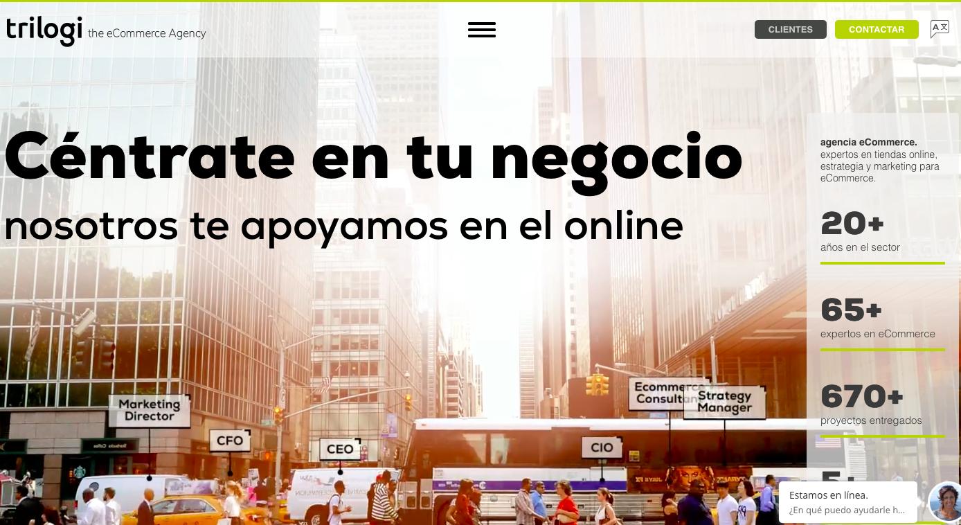 Agencia ecommerce España Trilogi